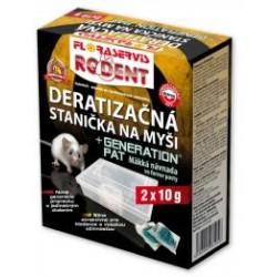 DERATIZAČNÁ STANIČKA pre myšy 2x10 g